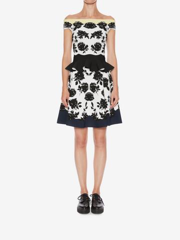 ALEXANDER MCQUEEN Knitted Mini Skirt Skirt Woman r