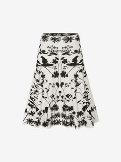 ALEXANDER MCQUEEN Skirt D Knitted Mini Skirt f