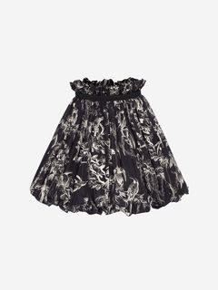 ALEXANDER MCQUEEN Skirt D Bird Sketch Mini Skirt f