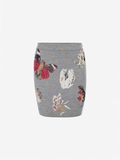 ALEXANDER MCQUEEN Skirt Woman Gothic Fairytale Mini Skirt f