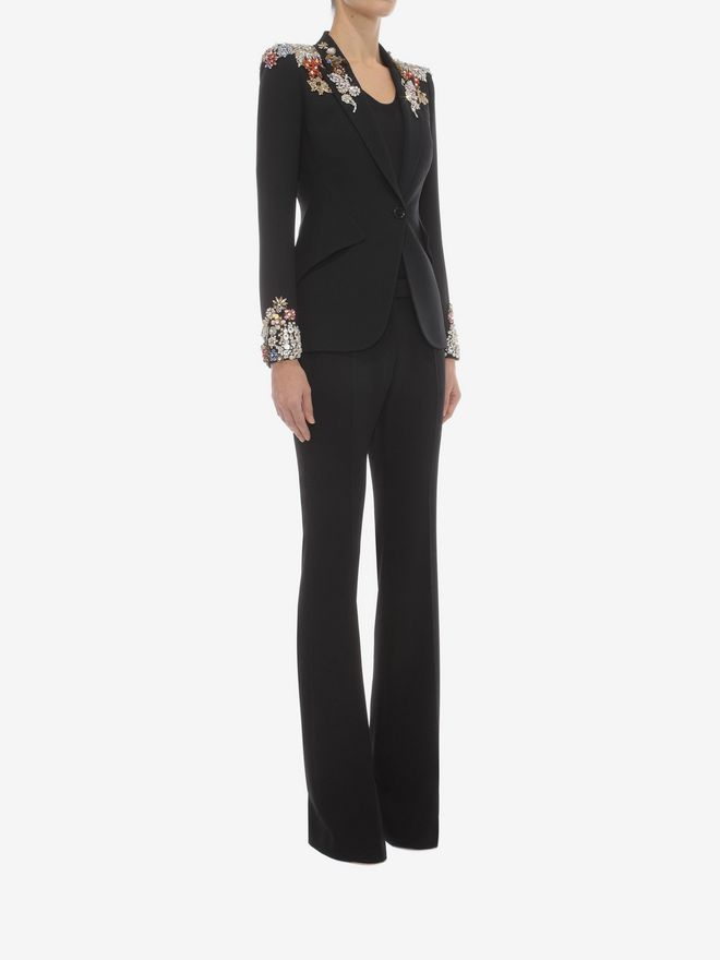 ALEXANDER MCQUEEN Narrow Bootcut Trousers Pants D d