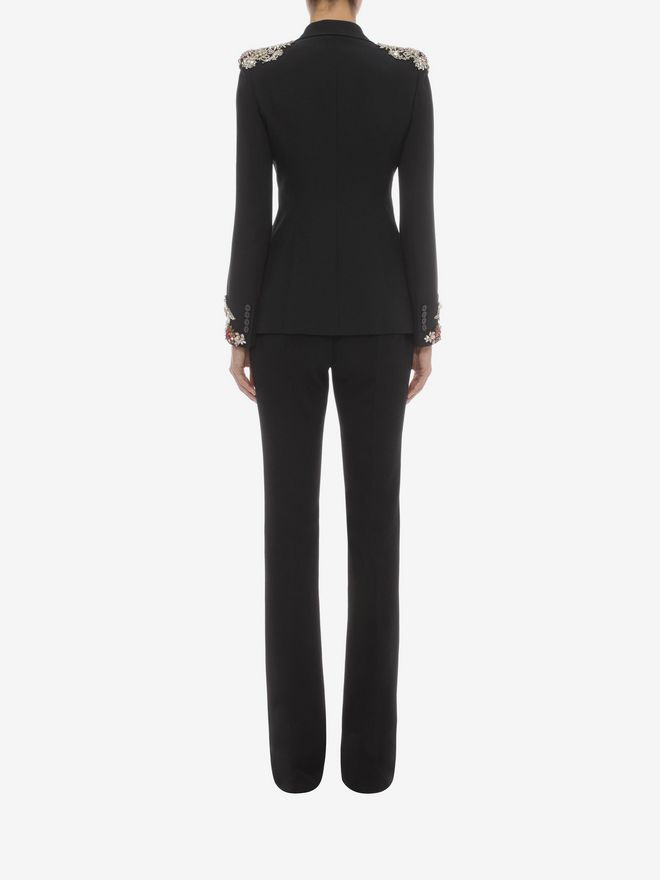 ALEXANDER MCQUEEN Narrow Bootcut Trousers Pants D e