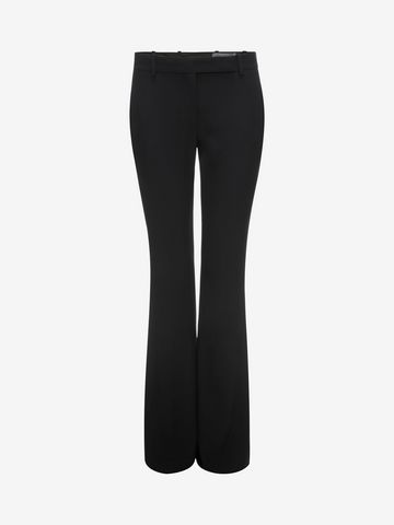 ALEXANDER MCQUEEN Narrow Bootcut Trousers Pants D f
