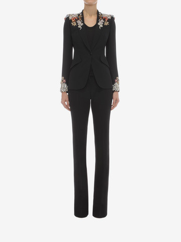 ALEXANDER MCQUEEN Narrow Bootcut Trousers Pants D r
