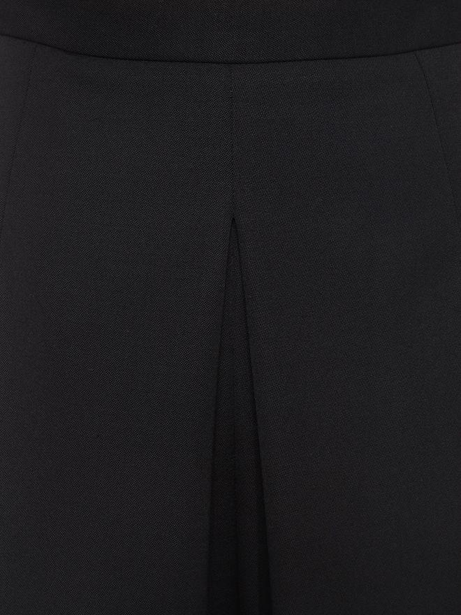 ALEXANDER MCQUEEN Wide Leg Crop Trousers Trousers D a