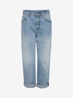 ALEXANDER MCQUEEN Jeans D Boyfriend Denim Jeans f