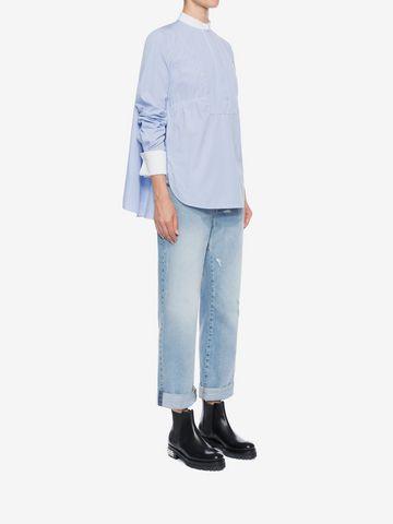 ALEXANDER MCQUEEN Boyfriend Denim Jeans Jeans D d