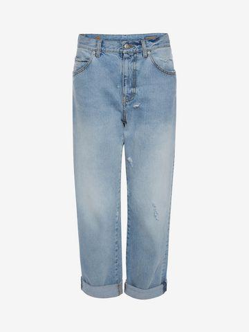 ALEXANDER MCQUEEN Boyfriend Denim Jeans Jeans D f
