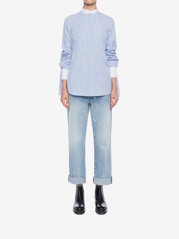 ALEXANDER MCQUEEN Boyfriend Denim Jeans Jeans D r