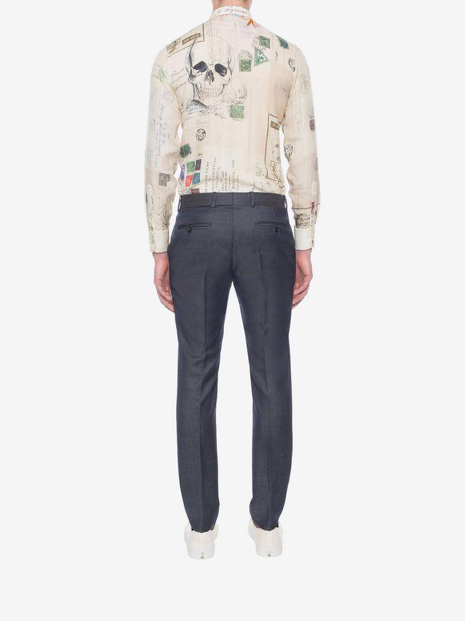 ALEXANDER MCQUEEN Mohair Trousers Tailored Pant U e