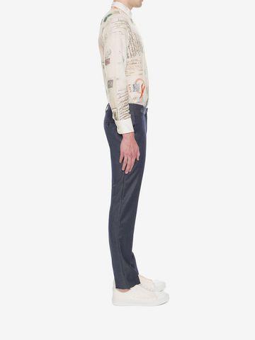 ALEXANDER MCQUEEN Mohair Trousers Tailored Pant U d