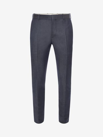 ALEXANDER MCQUEEN Mohair Trousers Tailored Pant U f