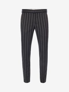 ALEXANDER MCQUEEN Tailored Pant U Medium Stripe Trousers f
