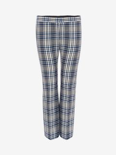 ALEXANDER MCQUEEN Pants D Celtic Check Tailored Trousers f