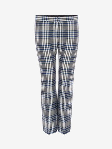 ALEXANDER MCQUEEN Celtic Check Tailored Trousers Trousers D f
