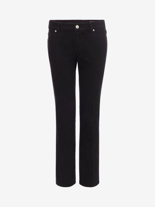ALEXANDER MCQUEEN Kickback Jeans Pants D f
