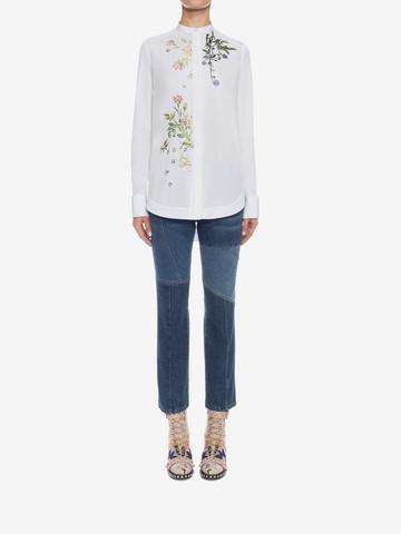 ALEXANDER MCQUEEN Patchwork Jeans Jeans D r