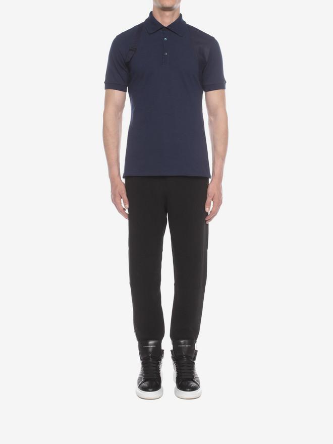 ALEXANDER MCQUEEN Harness Polo Polo Shirt U r