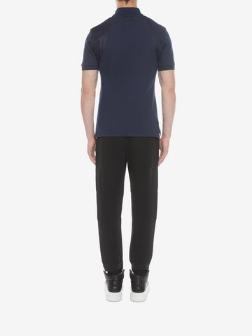 ALEXANDER MCQUEEN Harness Polo Polo Shirt U e