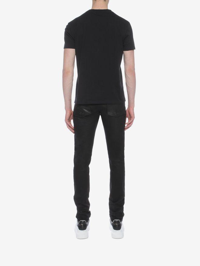 ALEXANDER MCQUEEN Skull Patchwork T-Shirt T-shirt Man e