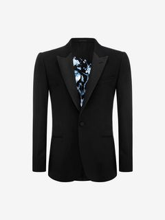 ALEXANDER MCQUEEN Tailored Jacket U Peak Collar Jacket f