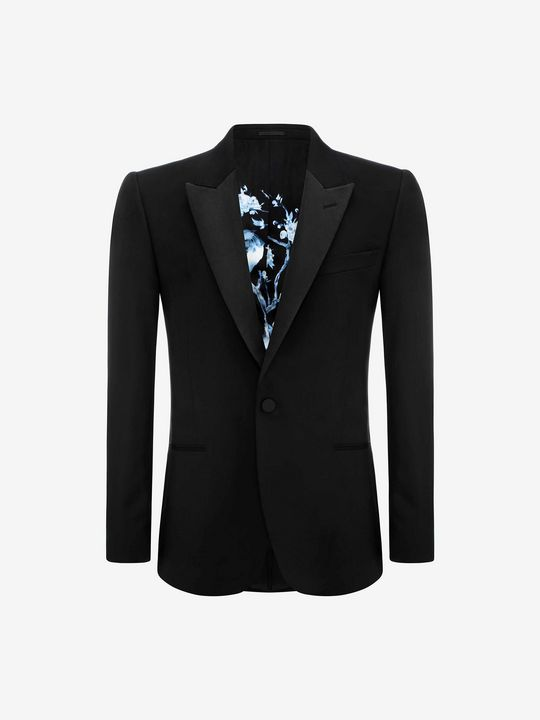ALEXANDER MCQUEEN Tailored 夹克 U 尖领夹克 f