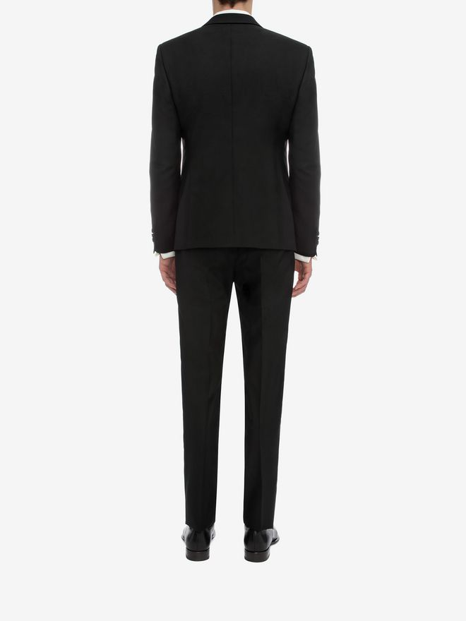 ALEXANDER MCQUEEN Peak Collar Jacket Tailored Jacket U e