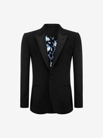 ALEXANDER MCQUEEN Peak Collar Jacket Tailored Jacket U f