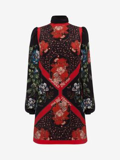 ALEXANDER MCQUEEN Mini Dress D Mini Dress with Scarf Detail f