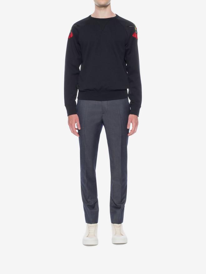 ALEXANDER MCQUEEN Organic Sweatshirt Sweatshirt U r