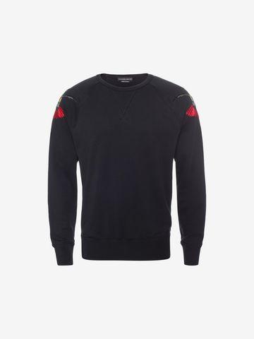 ALEXANDER MCQUEEN Organic Sweatshirt Sweatshirt U f