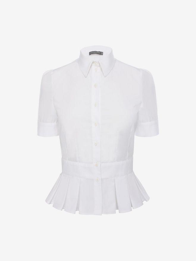 ALEXANDER MCQUEEN Peplum Shirt Shirts D f