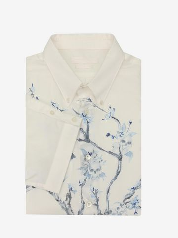 ALEXANDER MCQUEEN Tree Print Shirt Short Sleeve Shirt U f