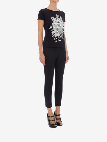 ALEXANDER MCQUEEN Skull Fit T-Shirt Top & Shirt D d