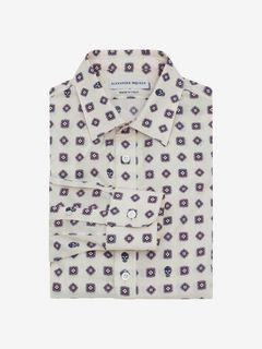 ALEXANDER MCQUEEN Long Sleeve Shirt U Classic Skull Shirt f