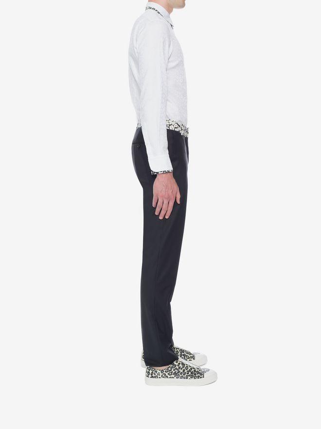 ALEXANDER MCQUEEN Leopard Print Shirt Long Sleeve Shirt U d