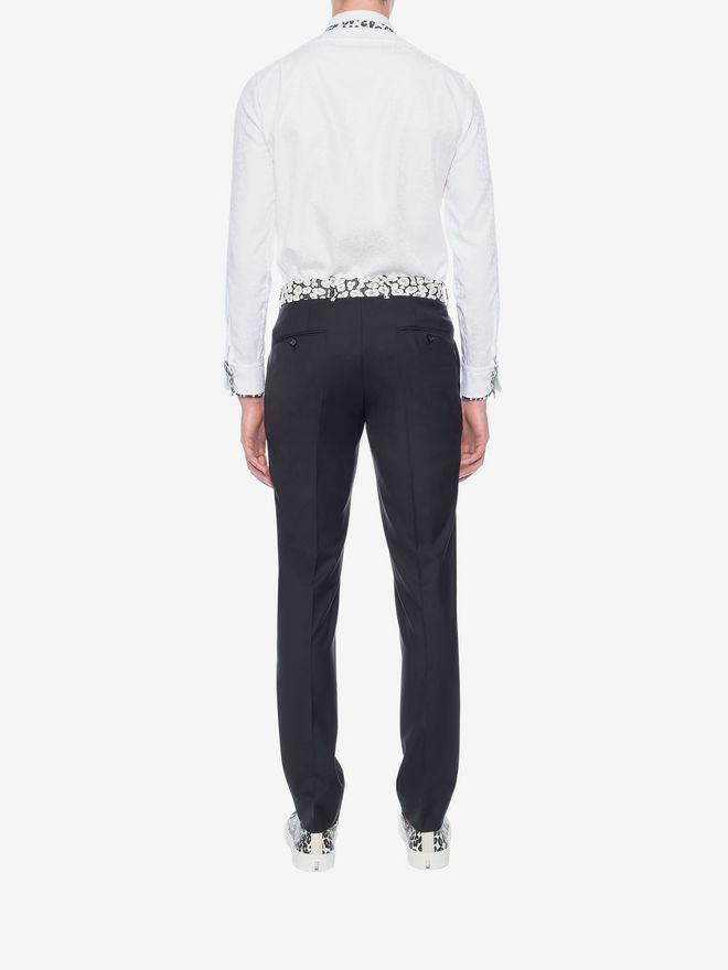 ALEXANDER MCQUEEN Leopard Print Shirt Long Sleeve Shirt U e