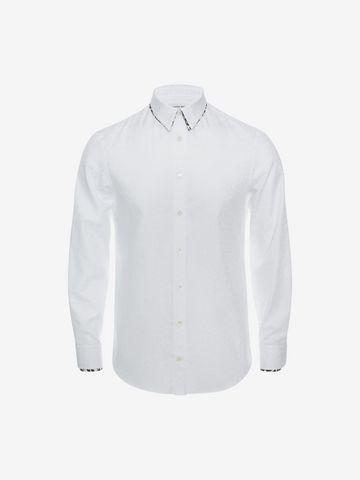 ALEXANDER MCQUEEN Leopard Print Shirt Long Sleeve Shirt U a