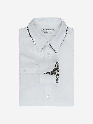 ALEXANDER MCQUEEN Leopard Print Shirt Long Sleeve Shirt U f