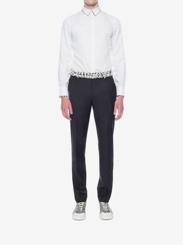 ALEXANDER MCQUEEN Leopard Print Shirt Long Sleeve Shirt U r