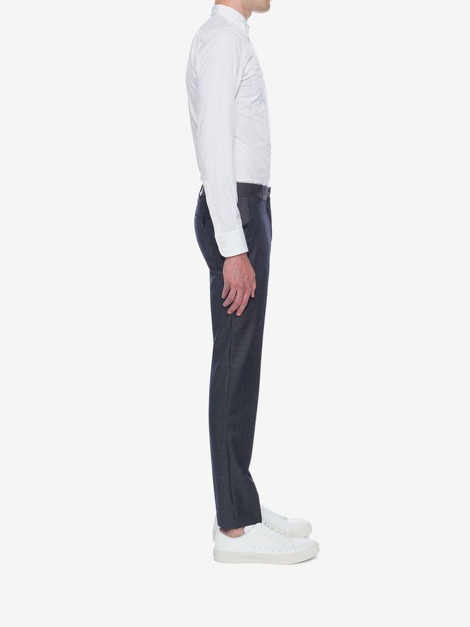 ALEXANDER MCQUEEN Cotton Poplin Shirt Long Sleeve Shirt U d