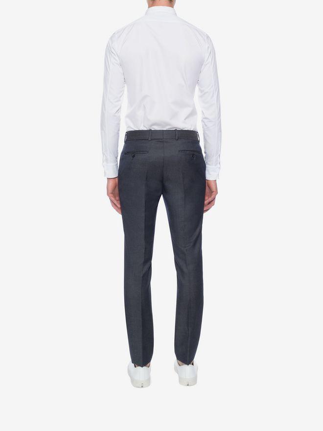 ALEXANDER MCQUEEN Cotton Poplin Shirt Long Sleeve Shirt U e