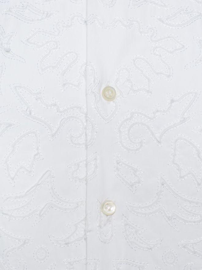 ALEXANDER MCQUEEN Cotton Poplin Shirt Long Sleeve Shirt U l