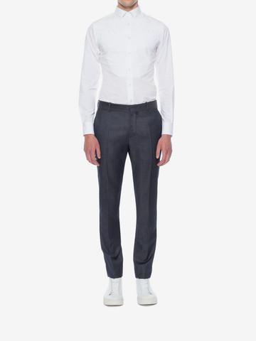 ALEXANDER MCQUEEN Cotton Poplin Shirt Long Sleeve Shirt U r