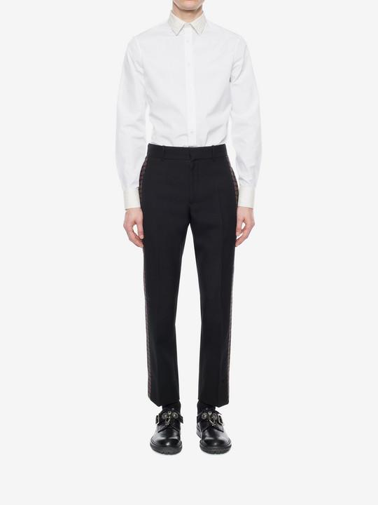 ALEXANDER MCQUEEN Poplin Shirt Long Sleeve Shirt U r