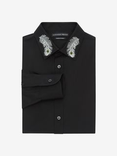 ALEXANDER MCQUEEN Long Sleeve Shirt U Poplin Shirt f