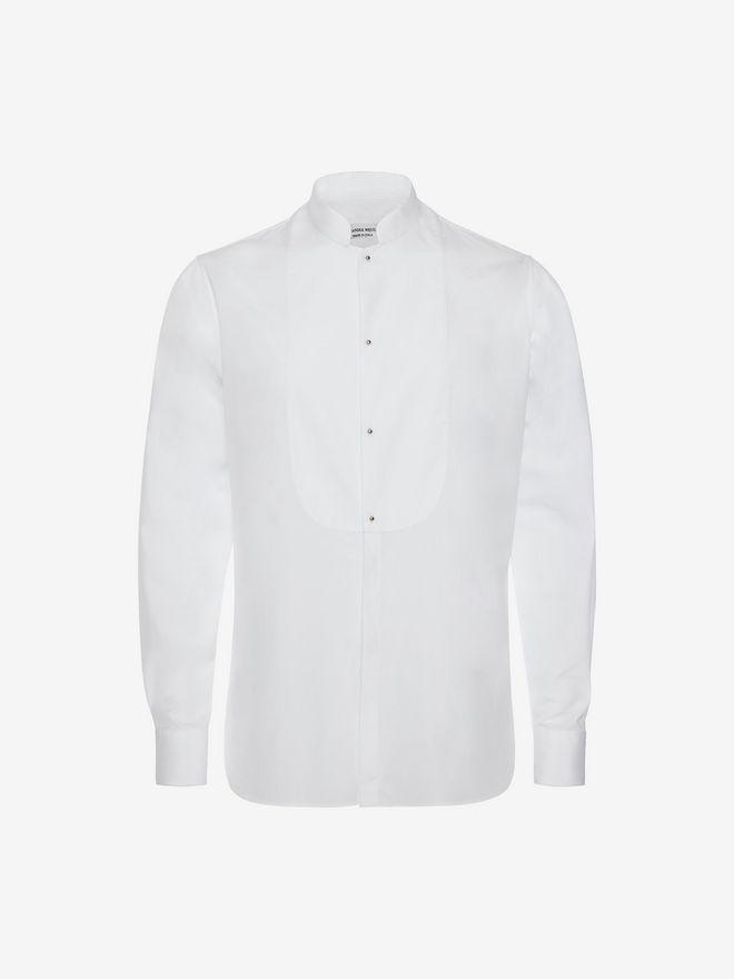 ALEXANDER MCQUEEN Organic Cotton Shirt Long Sleeve Shirt Man a