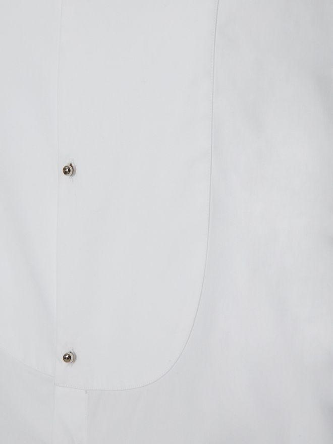 ALEXANDER MCQUEEN Organic Cotton Shirt Long Sleeve Shirt Man l