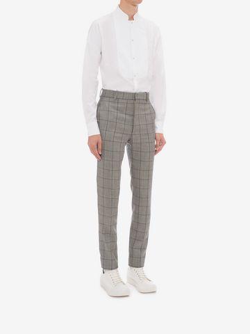 ALEXANDER MCQUEEN Organic Cotton Shirt Long Sleeve Shirt Man d