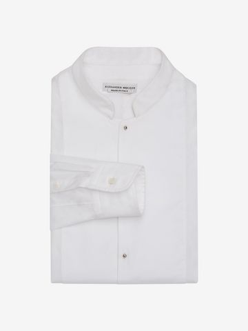 ALEXANDER MCQUEEN Organic Cotton Shirt Long Sleeve Shirt Man f